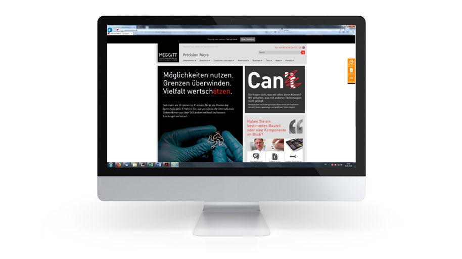 Website-Texte Precision Micro