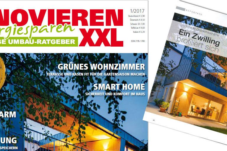 """Rheinzink B2C-Kommunikation: """"Ein Zwilling profiliert sich"""", Renovieren XXL"""