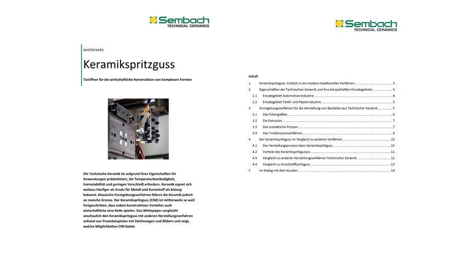 Whitepaper Sembach Technical Ceramics