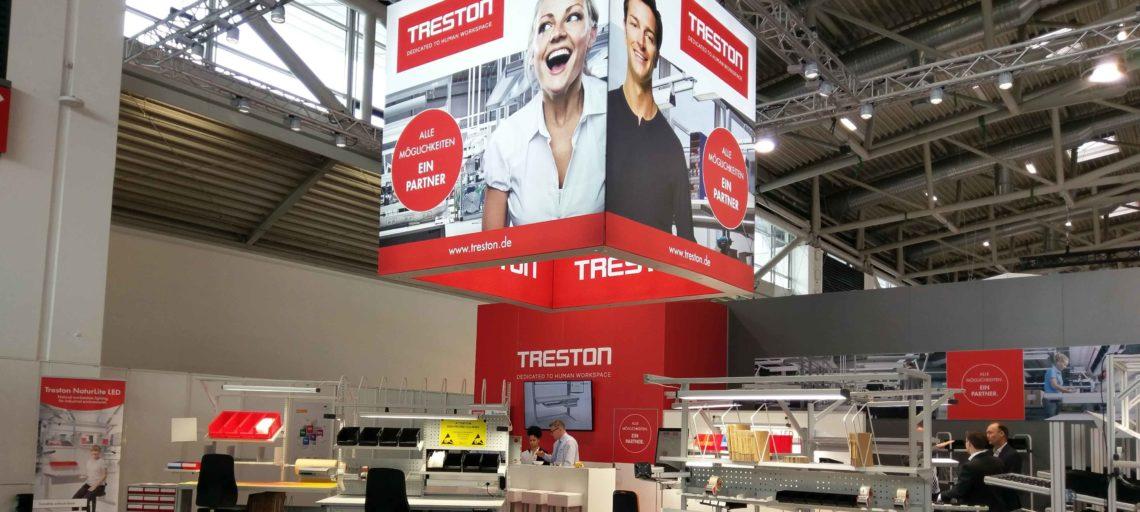 Kreation Messestand Treston Deutschland