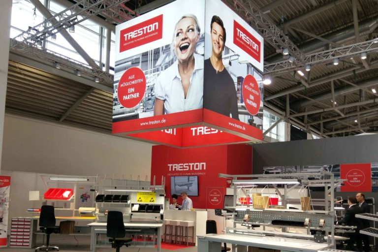 Treston Messestand