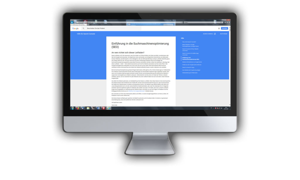 SEO Guidelines geben eine umfangreiche Einführung in die Suchmaschinenoptimierung und liefern zahlreiche Details die sich an SEO für den Mittelstand richtet.