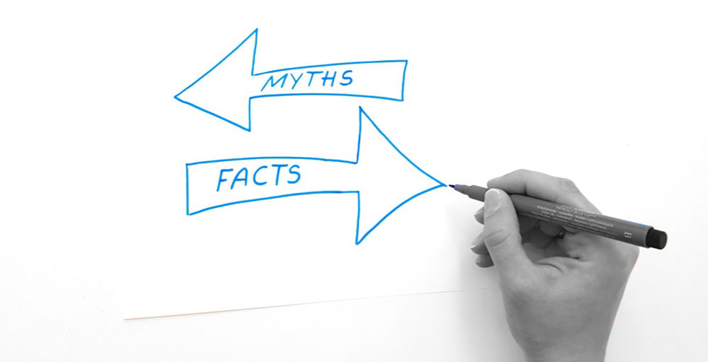 The time has come to clear up a few PR myths.